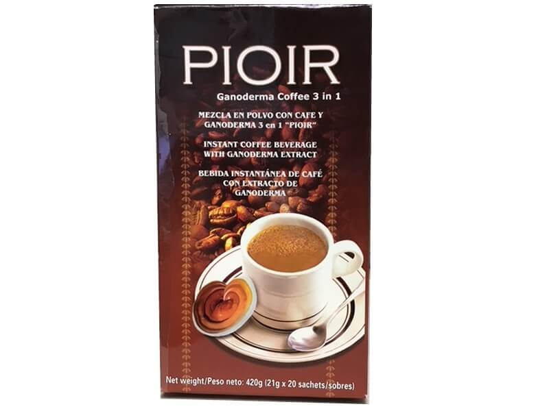 pioir ganoderma coffee 3 in 1 productos gano itouch costa rica - gano excel