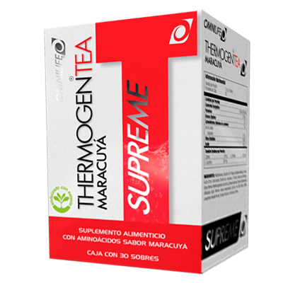 thermogen tea maracuya productos omnilife Perú