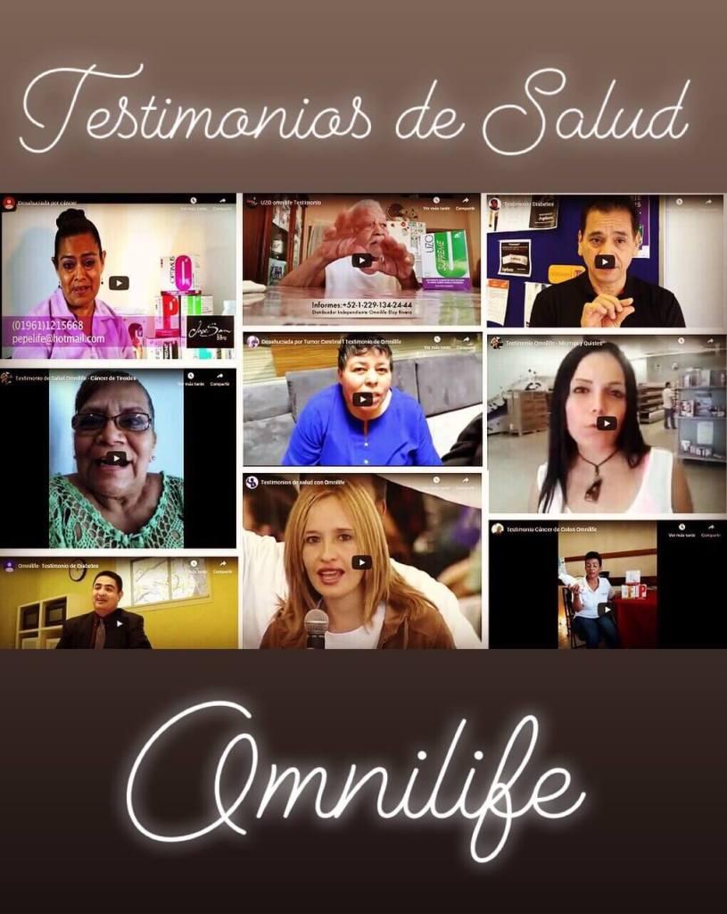 Testimonios de salud con Omnilife