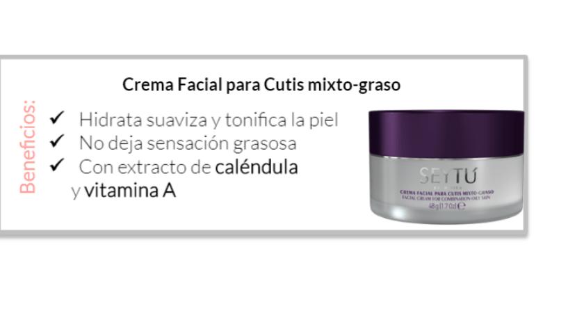 4.3 crema facial graso anti acne seytu