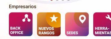 Sección Emprearios App Gano Excel Centro y Suramérica