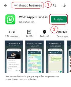 Descarga WhatsApp Business