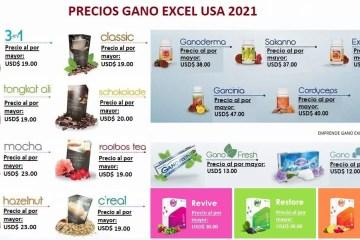 Precios-Gano-Excel-USA