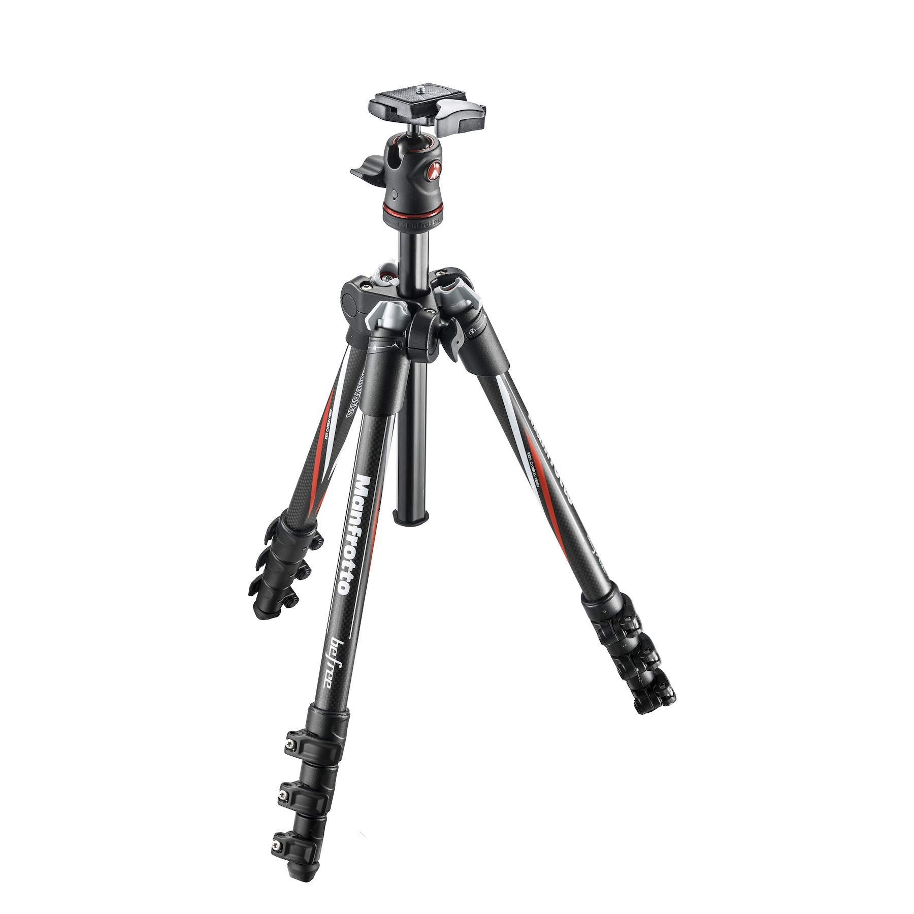 Manfrotto Befree Carbon Fiber Travel Tripod With Ball Head