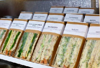 Fresh sandwich vending machine service available