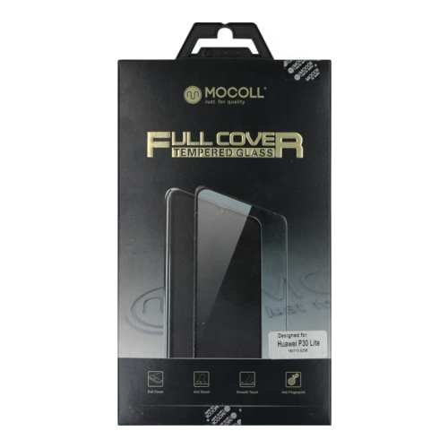 Mocoll 2.5D 9H Tempered Glass Full Cover 0.33mm Huawei P30 Lite Black