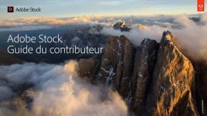 Guide Adobe Stock pour les contributeurs