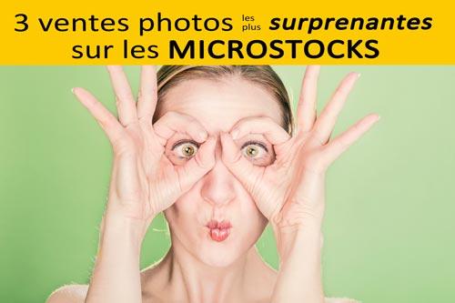 3 ventes photos surprenantes sur les microstocks | Vendre ses photos en ligne