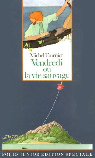 Vendredi Ou La Vie Sauvage Analyse : vendredi, sauvage, analyse, Couverture, Vendredi, Sauvage