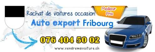 Rachat de véhicules occasions export à Fribourg et sur toute la Suisse romande