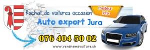 Rachat de véhicules occasions export à Jura