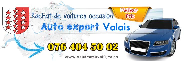 Rachat de véhicules occasions pour export à Valais