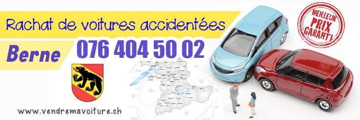 Rachat voitures accidentées à Berne