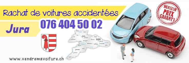 Rachat de voitures accidentées au Jura
