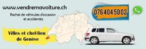 Rachat de voiture d'occasion à Vernier