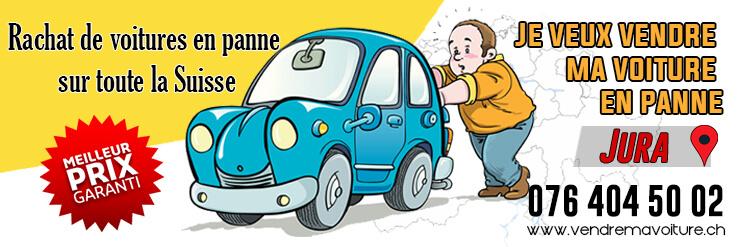 Rachat de voiture en panne au Jura