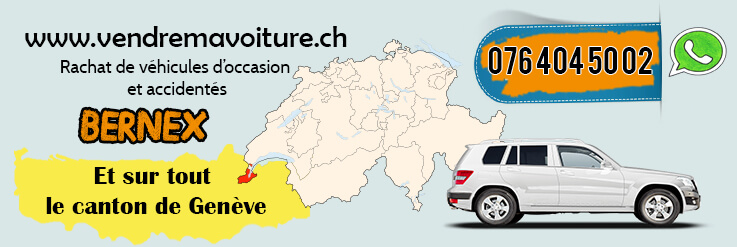 Rachat voiture occasion à Bernex