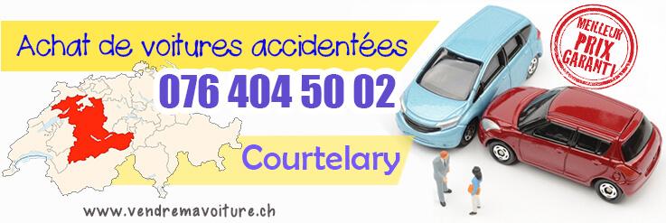 Vendre sa voiture accidentée à Courtelary