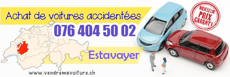 Vendre sa voiture accidentée à Estavayer