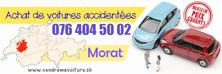 Vendre sa voiture accidentée à Morat