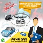 Vendre sa voiture en Suisse en toute sécurité rapidement