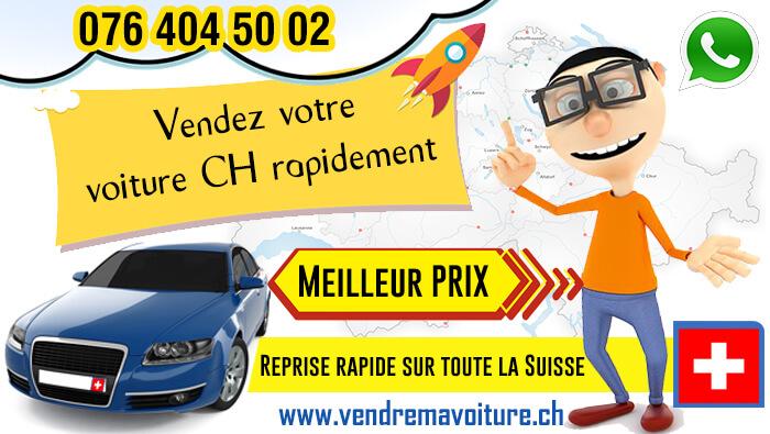 Vendez votre voiture CH rapidement