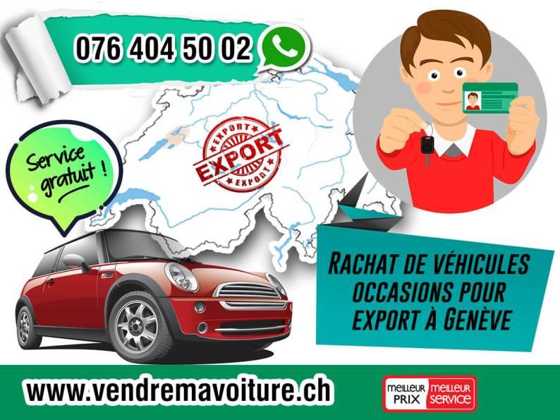 Rachat de véhicules occasions pour export à Genève