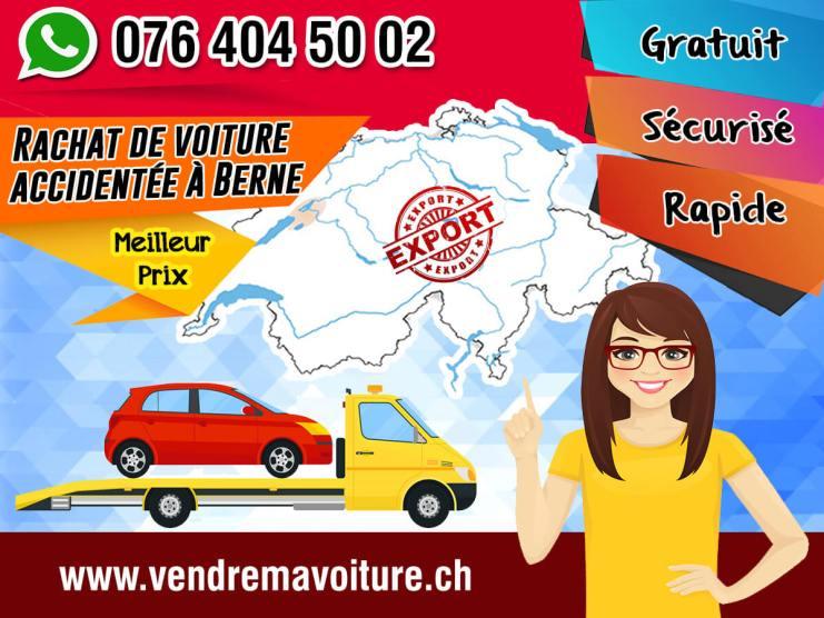 Rachat de voiture accidentée à Berne