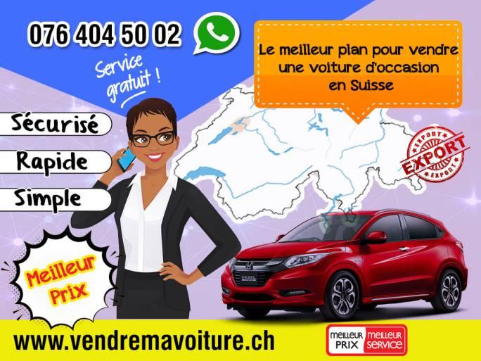 Le meilleur plan pour vendre une voiture d'occasion en Suisse