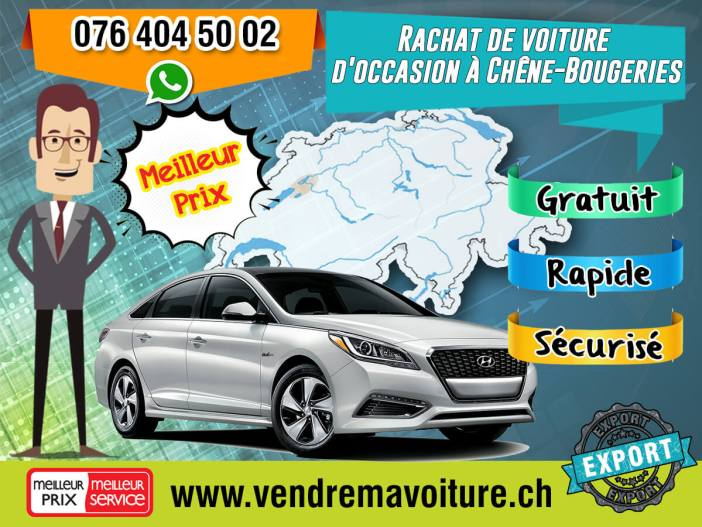Rachat de voiture occasion à Chêne-Bougeries