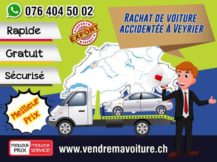 Rachat de voiture accidentée à Veyrier