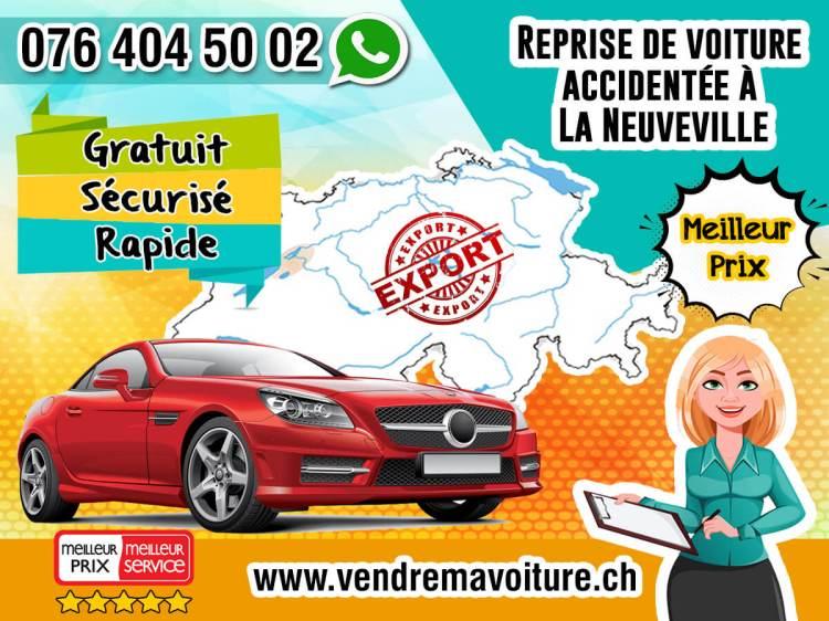 Reprise de voiture accidentée à La Neuveville