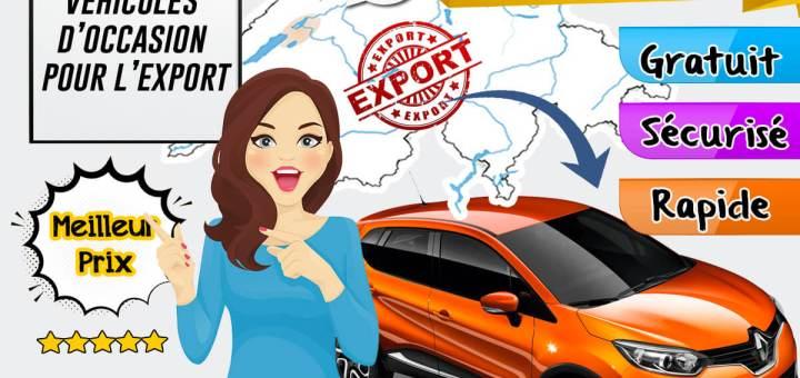 Achat de vehicules d'occasion pour l'export en Suisse