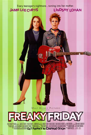 501512freaky friday posters Most Inspiring, Educating and Motivating Movies i ever watched