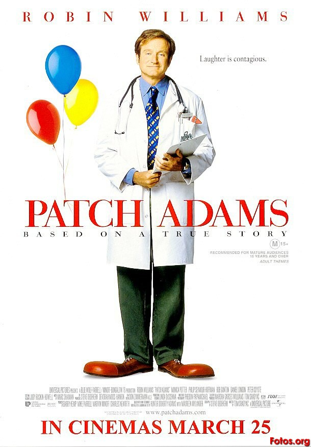 Patch Adams Most Inspiring, Educating and Motivating Movies i ever watched