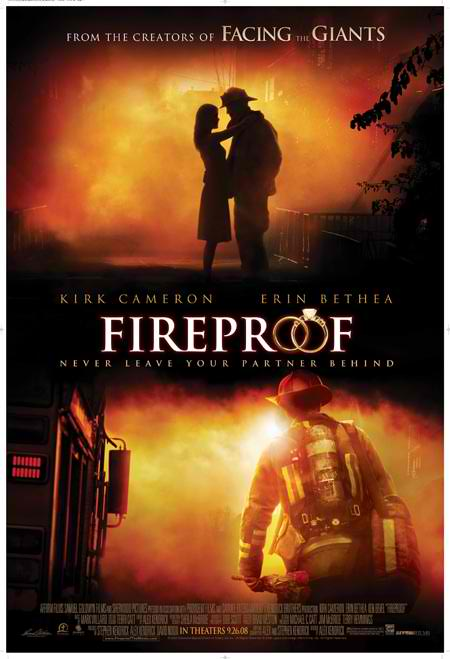 fireproof poster kirk camer Most Inspiring, Educating and Motivating Movies i ever watched