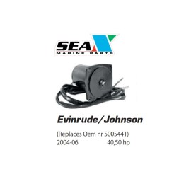 Evinrude/Johnson trimmimoottori 2004-06 40 50 hp.