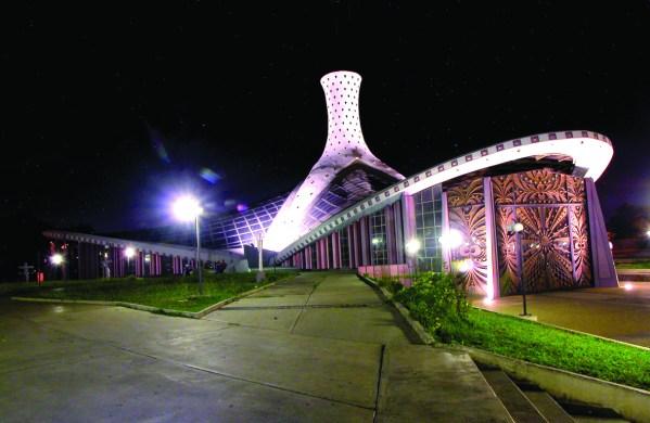 Catedral de Barquisimeto de noche