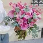 Carnation Lily rose Mix Bouquet 35 flower, Venera Flowers, online flower delivery dubai