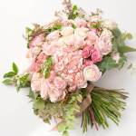 Hydrangea And Rose Pinky Flower, Venera Flowers, online flower delivery dubai