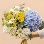 Hydrangea Home Vase, Venera Flowers, online flower delivery dubai