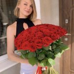 Rose Red 101 Bouquet Flower, Venera Flowers, online flower delivery dubai