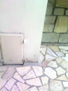 Ripristino pavimento e muro con muffa