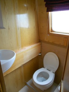 The redesigned interior gives us room for a spacious full sized loo
