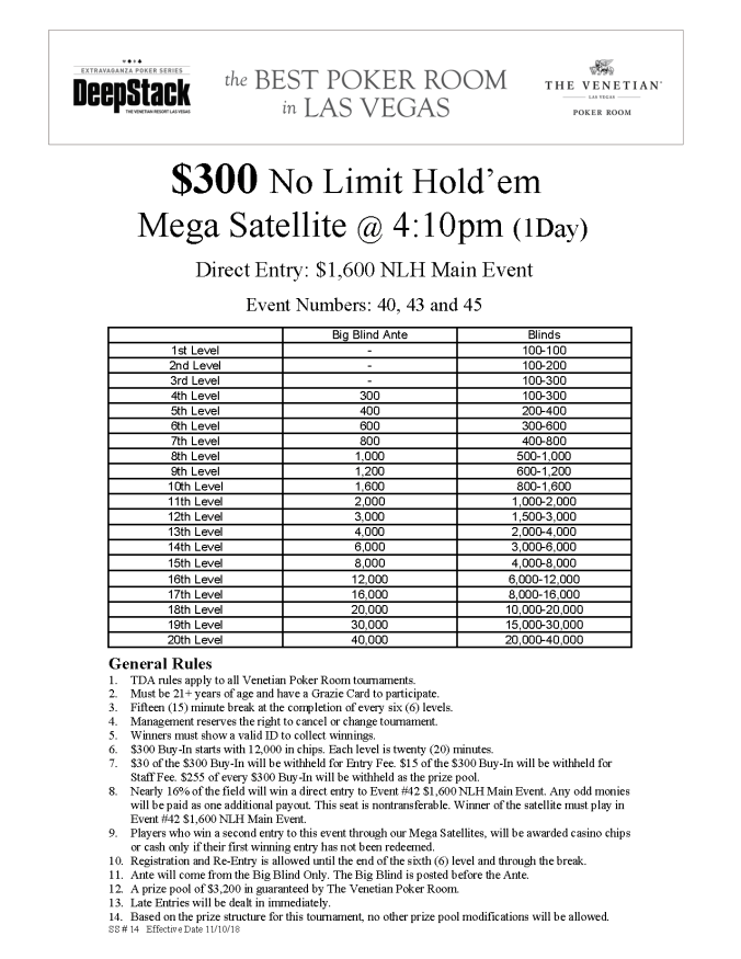 DSE I $300 NL Mega Satellite