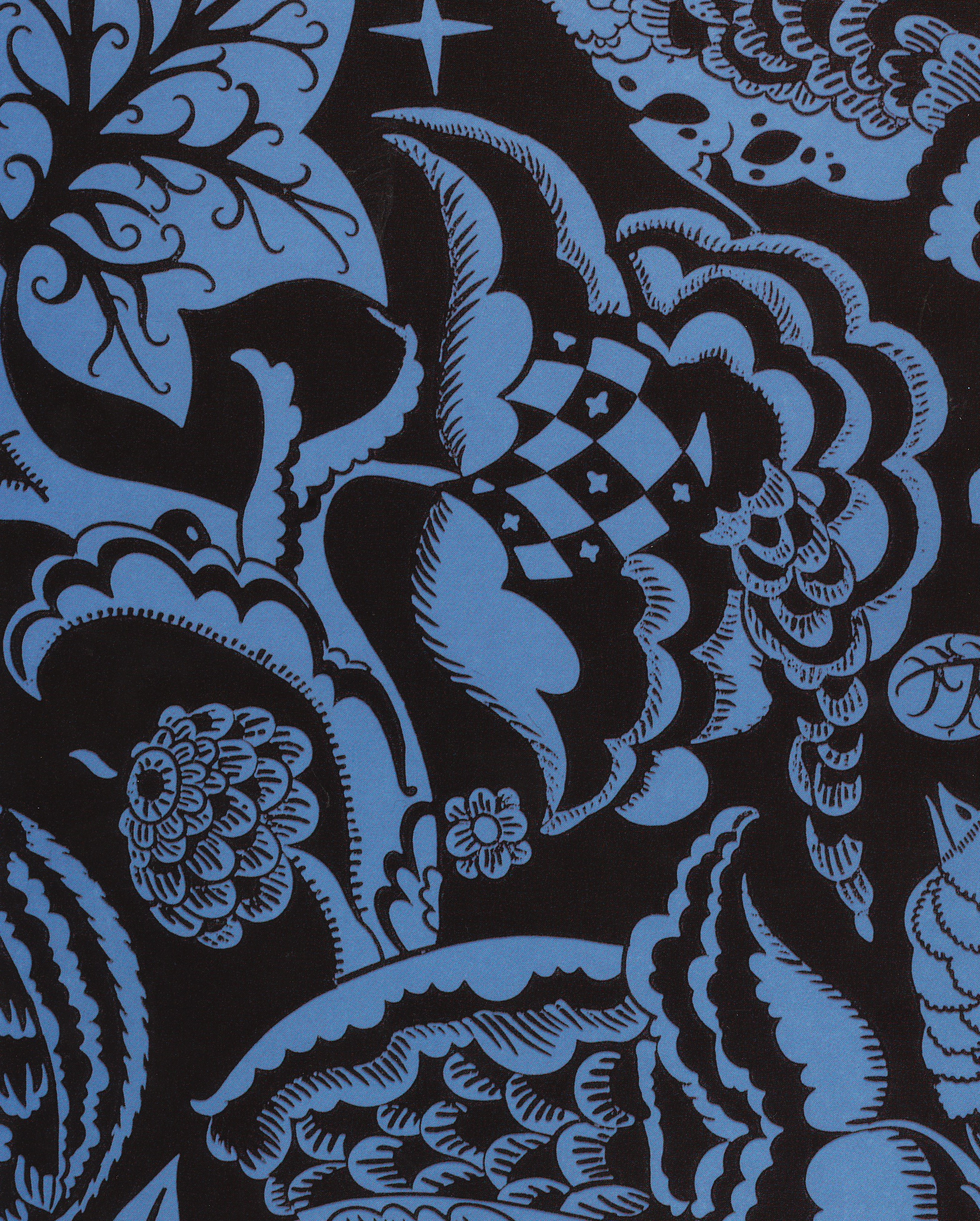 Dagobert Peche—Wallpaper design