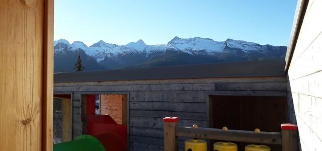 Sulla neve con i bambini a Bellamonte in Val di Fiemme