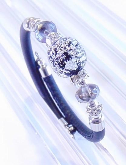 Bracciale Romea Black Silver