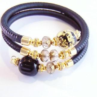 Bracciale Rugiada Black Gold