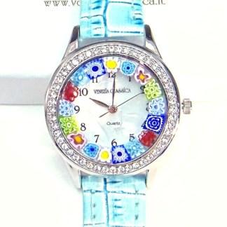 Orologio Venissa Azzurro Silver Multicolor